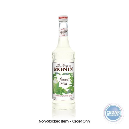 Monin Syrup 700ml - Frosted Mint