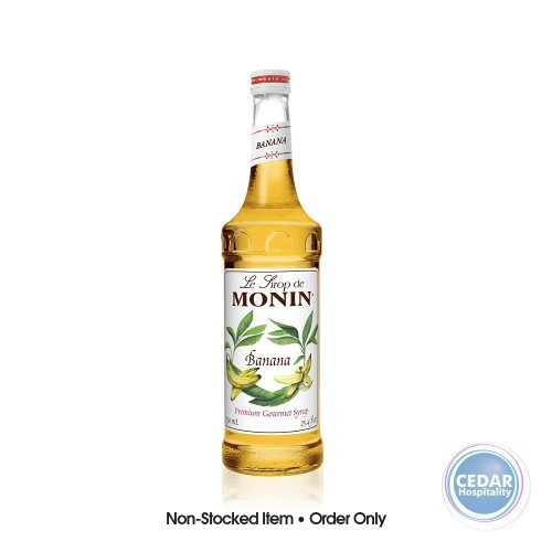 Monin Syrup 700ml - Banana