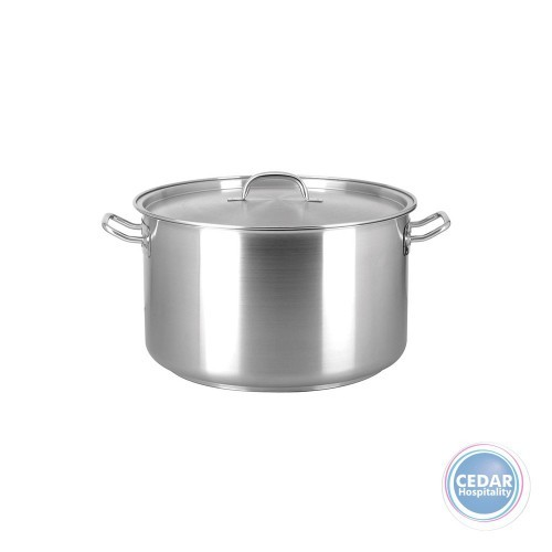 Chef Inox Elite Saucepot with Lid - 6 Sizes