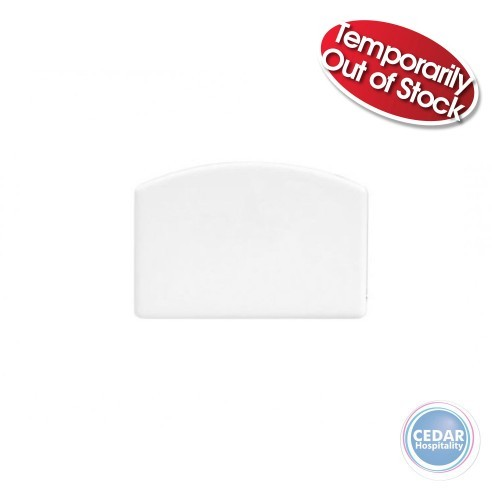 Dough Scraper Plastic White 140 x 95mm
