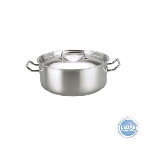 Chef Inox Elite Casserole with Lid - 6 Sizes