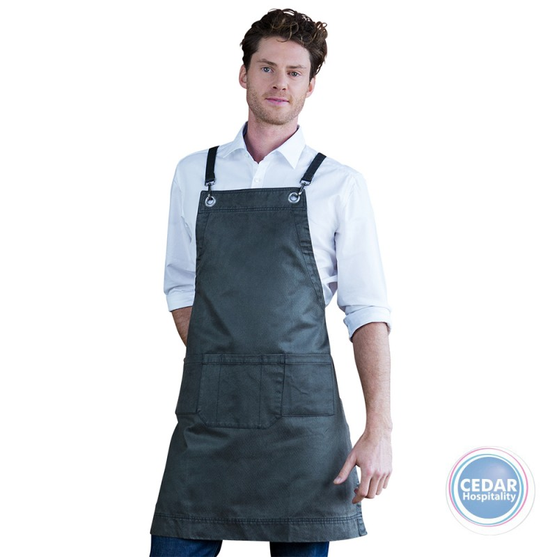 Aussie Chef Outback Bib Apron 68 x 82cm - 4 Colours