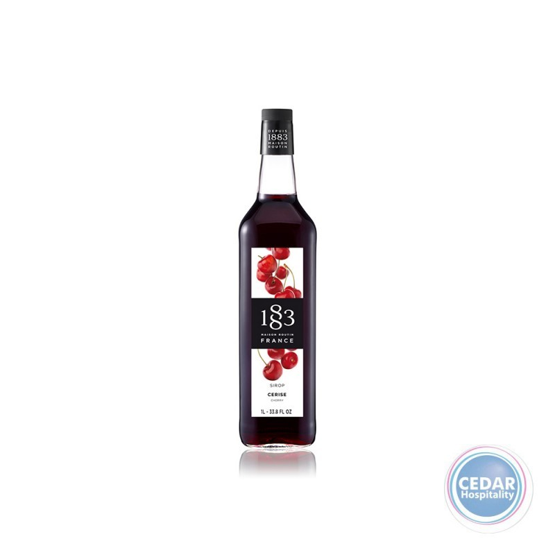 1883 Syrup 1litre - Cherry