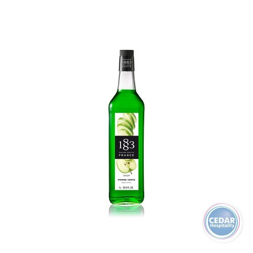 1883 Syrup 1litre - Green Apple