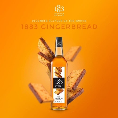 1883 Syrup 1litre - Gingerbread