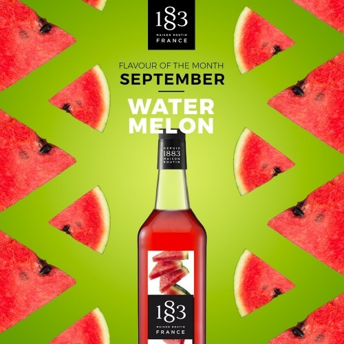 1883 Syrup 1litre - Watermelon
