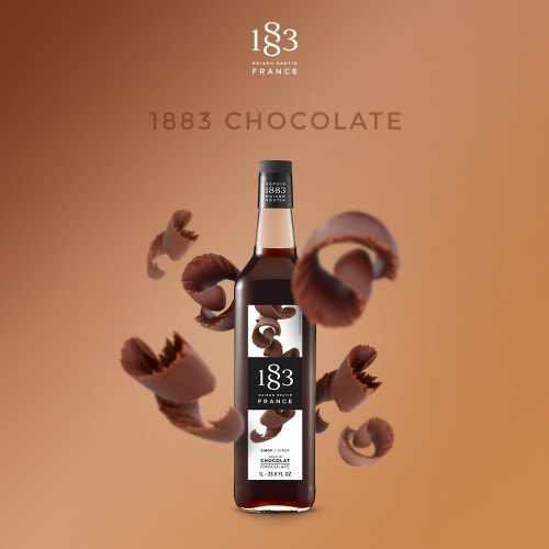 1883 Syrup 1litre - Chocolate