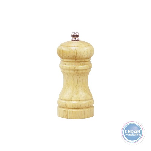 CAFE SALT/PEPPER MILL BIRCH WOOD 115MM