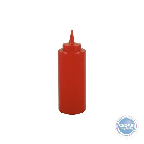 Squeeze Bottle 340ml Red