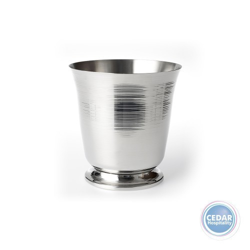 Chef Inox Wine Bucket 1 Bottle Ribbed & Footed