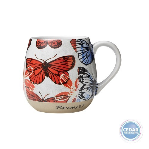 Robert Gordon Bromley Hug Me Mug Butterflies 550ml – 2 Colours