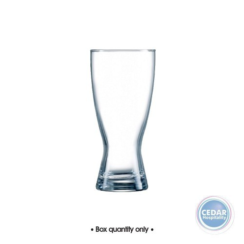 Arcoroc Keller Certified Beer Glass 425ml - Box Qty Only - 48 P/Box