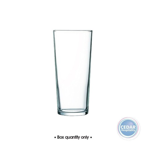 Arcoroc Emperor Tempered Beer Glass - 3 Sizes - Box Qty Only - 48 P/Box