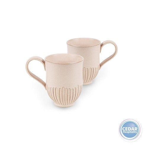 Robert Gordon Crafted Mug White 400ml 2/Pack - 3 Colours