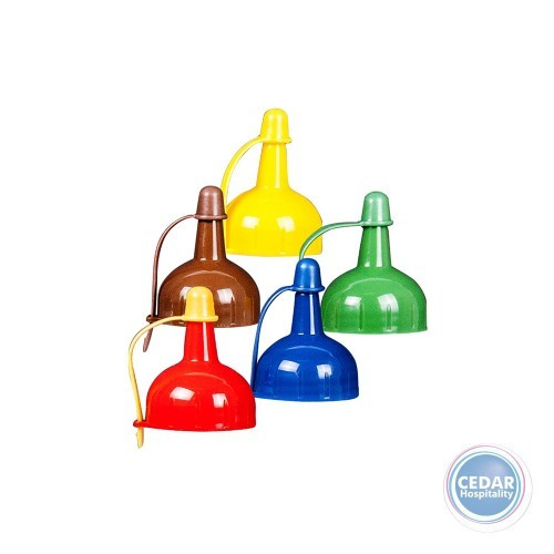 Decor General Purpose Squeeze Bottle Lids - Assorted Colours