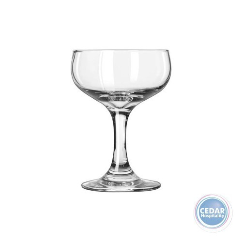 Libbey Embassy Champagne Saucer 163ml - Box Qty Only - 12 P/Box