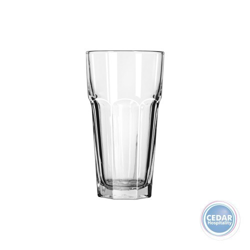 Libbey Gibraltar Cooler Glass - 2 Sizes - Box Qty Only - 6 P/Box