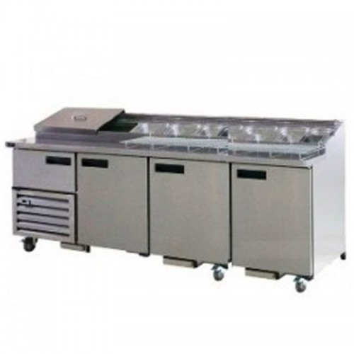 Pizza Bar 3.5 Doors 2400mm - 630Lt