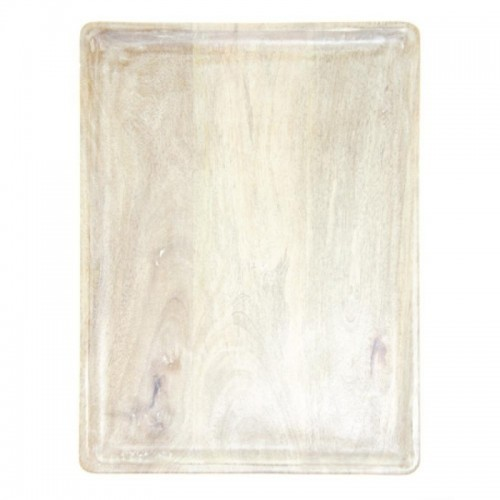 Mango Wood Board Rectangle White