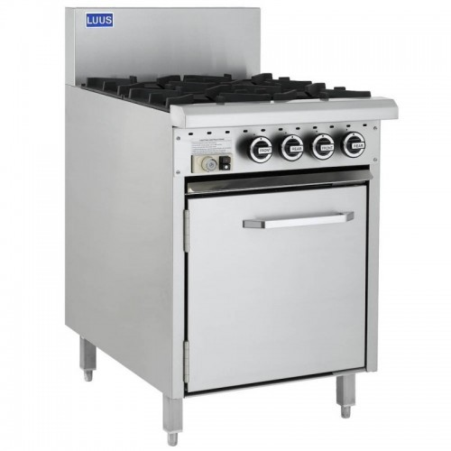 Essential 4 Burners & Oven