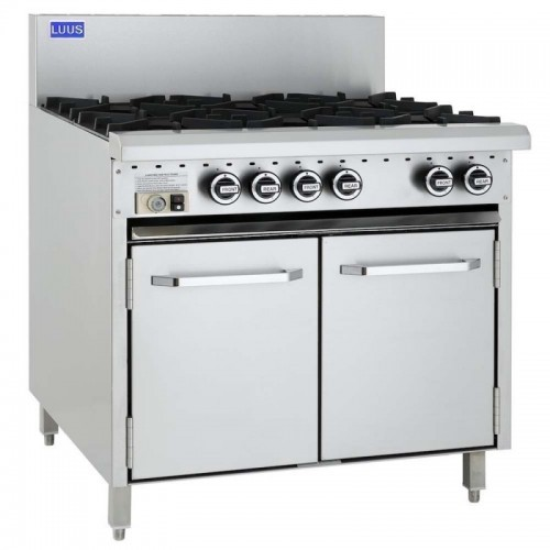 Essential 6 Burners & Oven