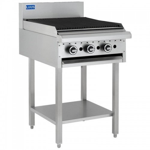 Essential Chargrill & Stand 600mm