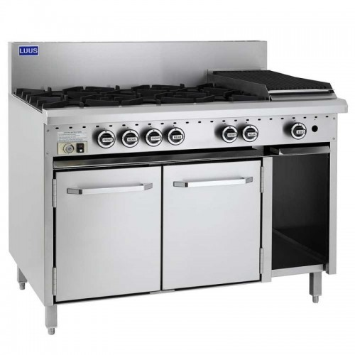 Professional 8 Burner Gas Double Oven