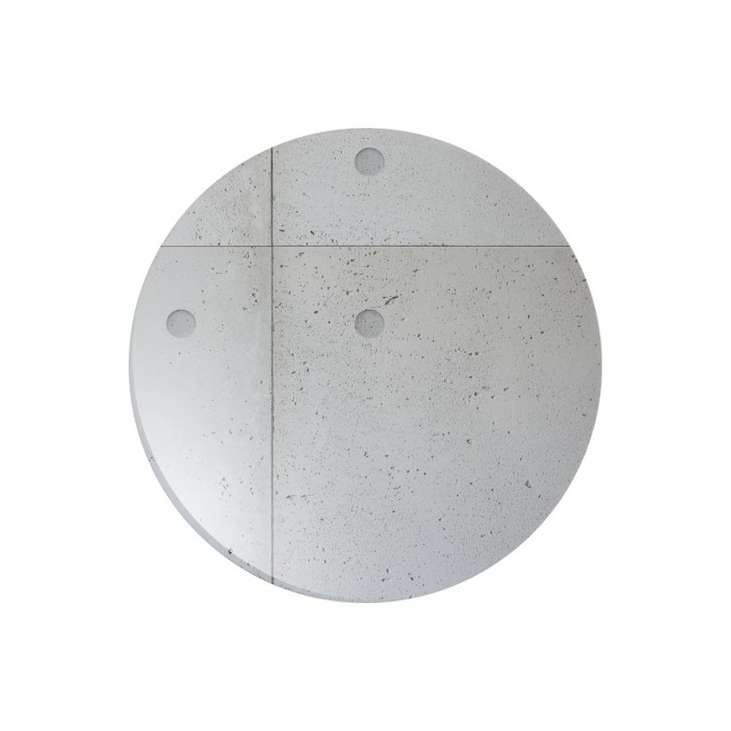 Chef & Sommelier Concrete Dinner Plate 285mm Round 6/Ctn
