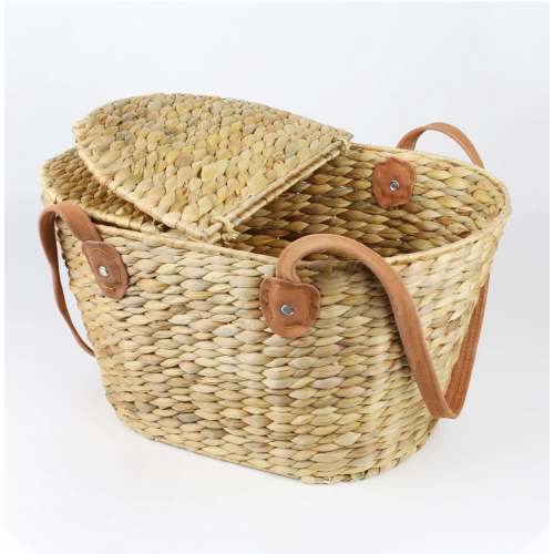 Robert Gordon Harvest Picnic Basket with Seude Handles