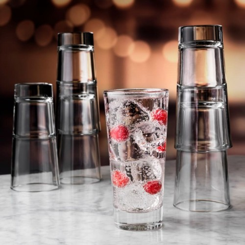 Libbey Endeavour Beverage Stackable Glass 355ml - Box Qty Only - 12P/Box