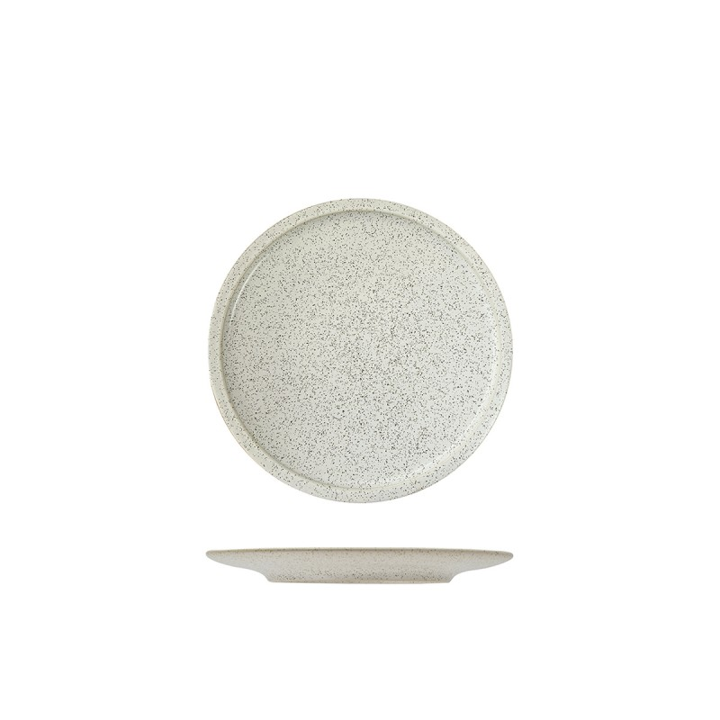 Rakstone Ease Flat Coupe Plate Clay 3 Sizes