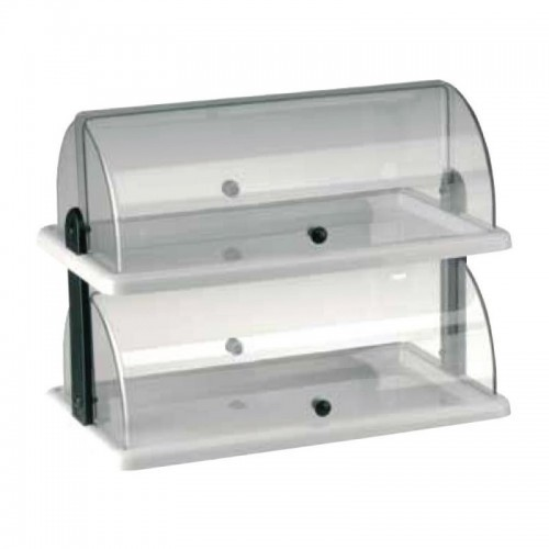Cake Display Cabinet Rectangle Double