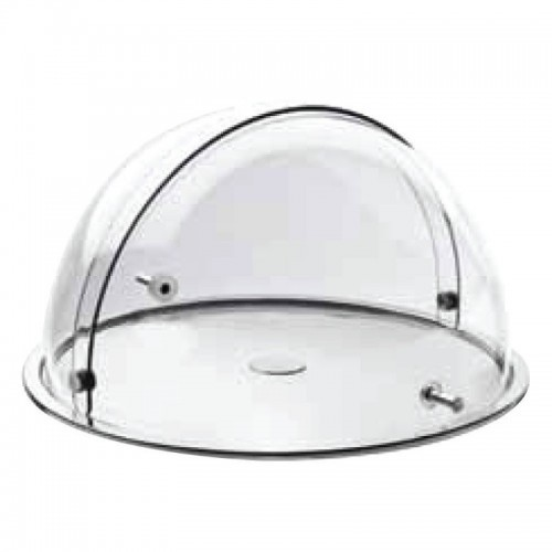 Buffet Cake Tray With Rotating Cloche