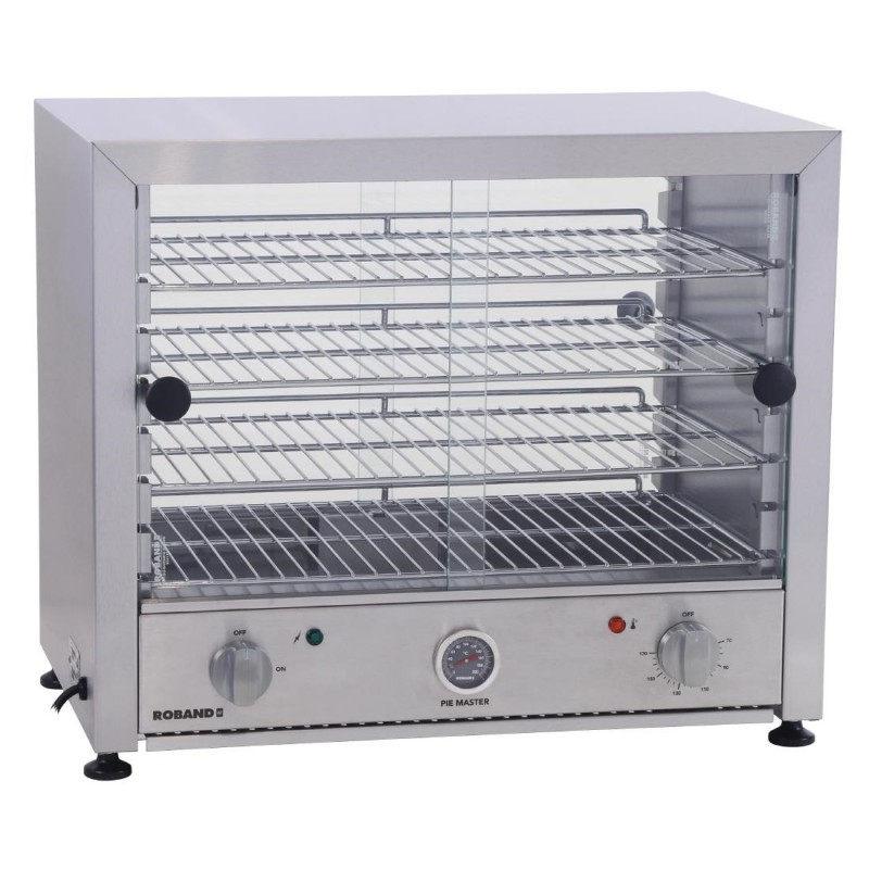 Roband Pie Warmer With Glass Sliding Doors - 2 Models