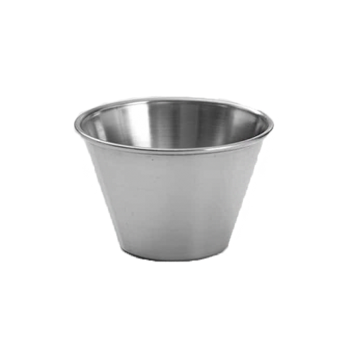 STAINLESS STEEL SAUCE CUP 60 X 20MM