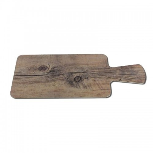 Melamine Driftwood Serving Board with Handle Rectangle