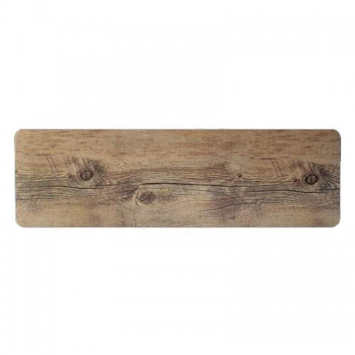 Melamine Driftwood Flat Gastronorm Tray Rectangle