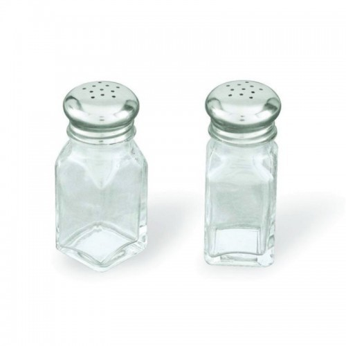 Salt & Pepper Glass Square