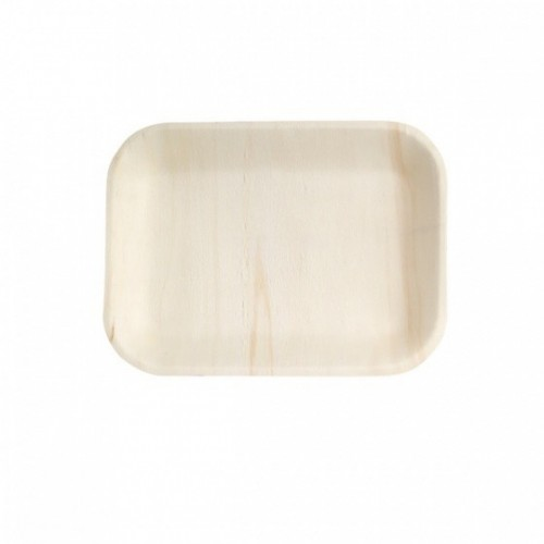 Bio Wood Rectangle Bowl - 200 x 140mm