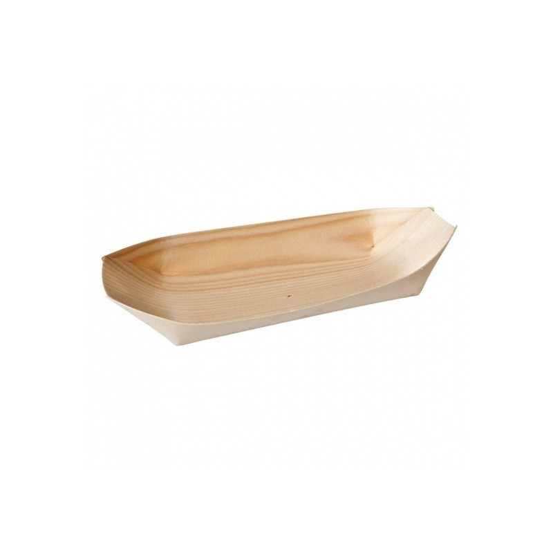 Bamboo Oval Boat - 170 x 85mm