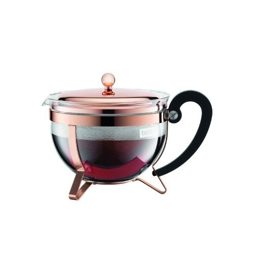 Bodum Chambord French Press Teapot - 1.5 Litre Copper