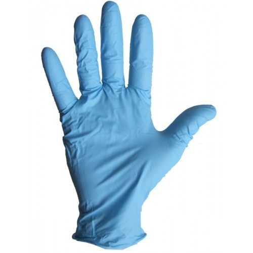 Disposable Gloves Blue - Pre-Powdered