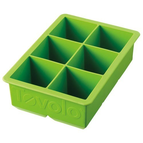 Tovolo King Cube Ice Tray Green