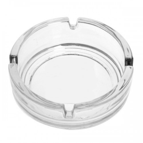 Ashtray Round Glass - 100mm