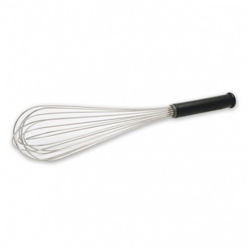Piano Whisk Black Handle Sealed