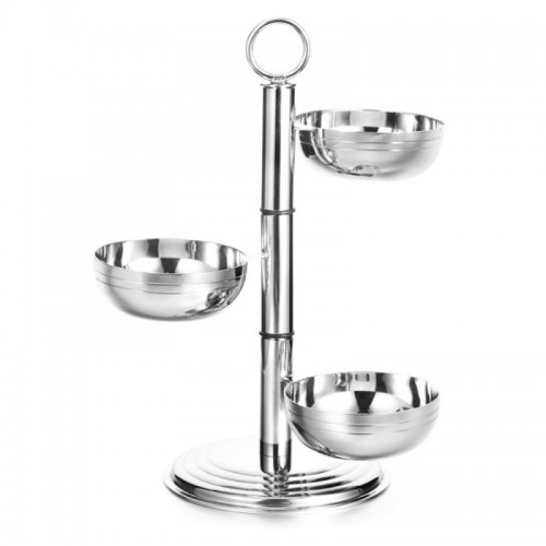 Nuts  Bowl  -  With Rotating Design on Stand