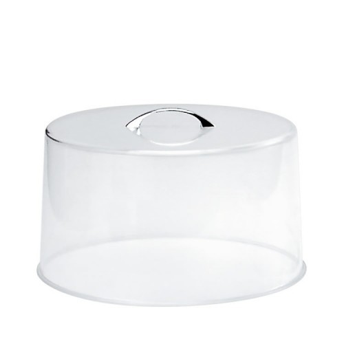 Cake Cover Acrylic - Chrome Handle