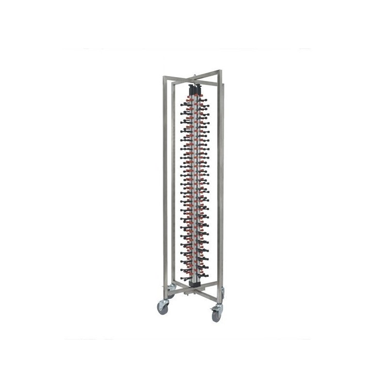 Mobile Plate Stacking Trolley