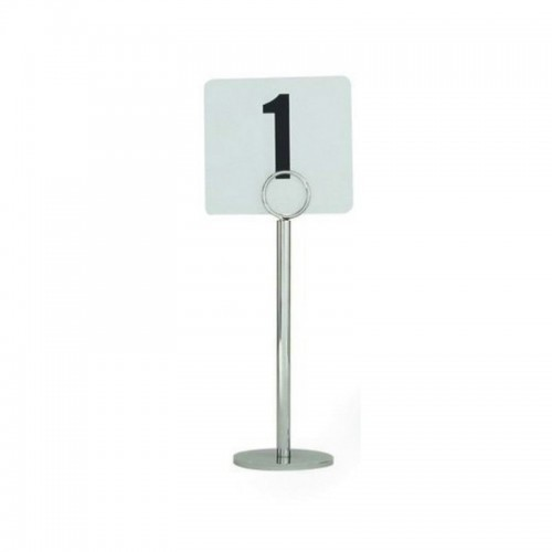 Table Number Stand S/Steel