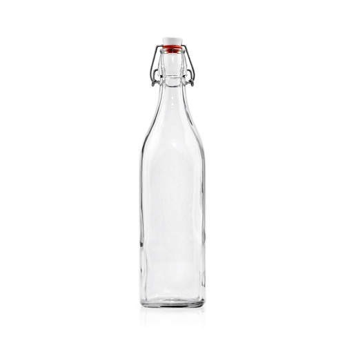 Glass Swing Bottle 1.0lt Clip Top